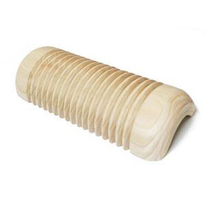 이노하이 편백 주름형 목침 경침 골경침 중사이즈 30cm 목 마사지
