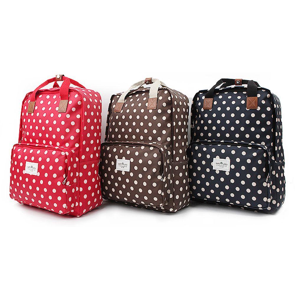 귀여운 토트무늬 데일리 패션가방 여성용 노트북백팩