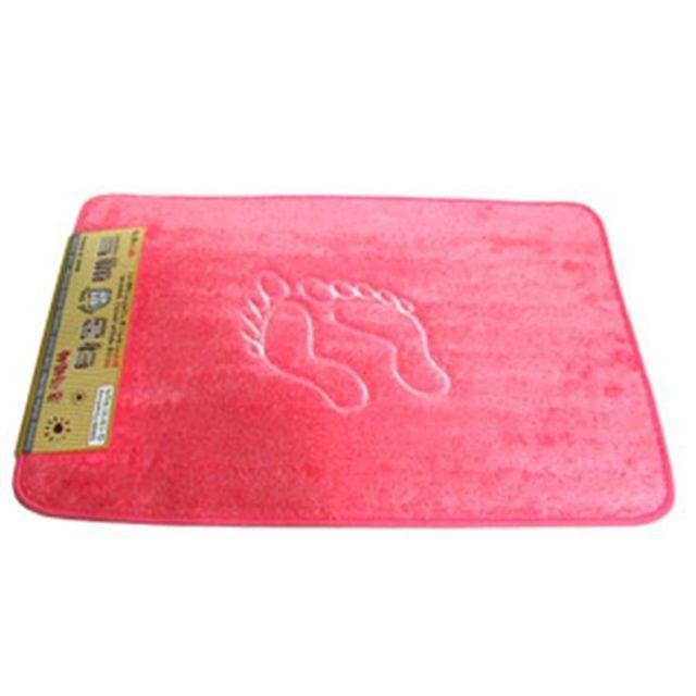 욕실 극세사 발매트 (중) 핑크 주방 거실 러그 카페트 [제작 대량 도매 로고 인쇄 레이저 마킹 각인 나염 실크 uv 포장 공장 문의는 네이뽕]