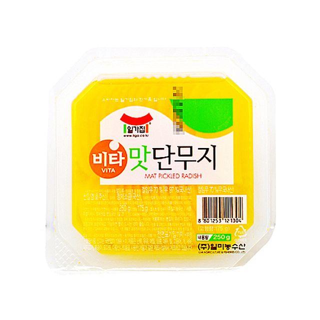 일가집 비타 맛단무지 250g,일가집,비타,맛단무지,250g