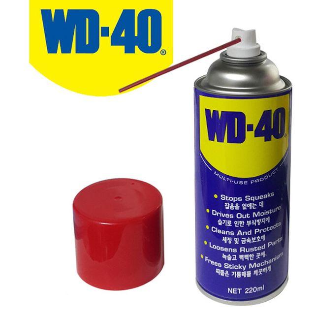 W WD-40 방청윤활제 중형 220ml 방청제
