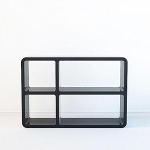 원룸 카페 수납 공간 조립식 책장 선반 인테리어 박스