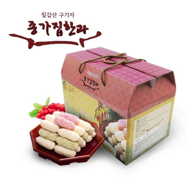 W2E9F46칠갑산 종가집 구기자한과 900g,칠갑산,청양구기자,한과,종가집한과