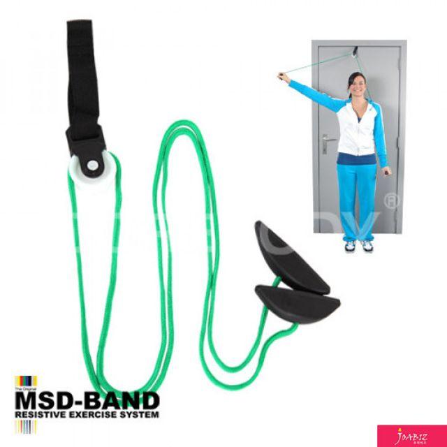 SDM MSD밴드 숄더로프풀리 스탠다드타입 블랙 그린