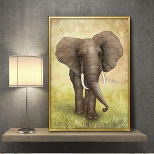 코끼리 A3 4ELE1 그림 액자 풍수에 좋은