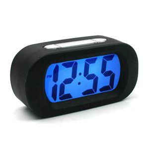 New 스마트 디지털 심플 알람 탁상시계(블랙)