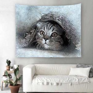 벽 가림막 포스터 귀여운고양이 인테리어소품 3size