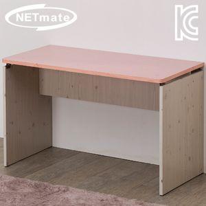 NETmate 입식 책상 1500x600x720 핑크 컴퓨터 테이블