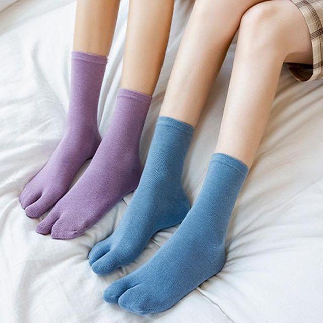 W 타비양말 발가락 이등분 쪼리 족발 삭스 패션 덧신