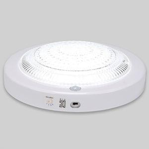 원형 LED 센서등 비상 15W 주광 크리스탈 야외 현관등