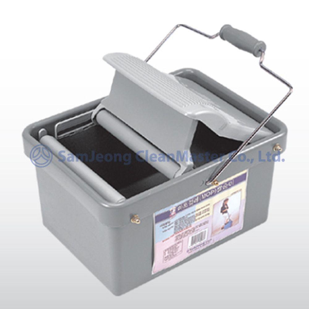 삼정 마포걸레짤순이 MOP 0037 [제작 대량 도매 로고 인쇄 레이저 마킹 각인 나염 실크 uv 포장 공장 문의는 네이뽕]