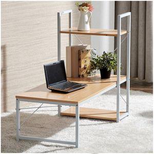 철재원목 좌식 컴퓨터책상 공간활용 견고함 튼튼함