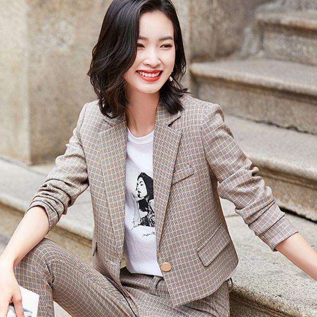 [해외] 여성 패션 재킷 자켓 정장세트 캐주얼 전문 정장