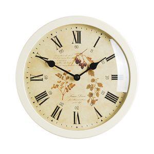 타임데코 Round Clock Flower6(IV) 벽시계