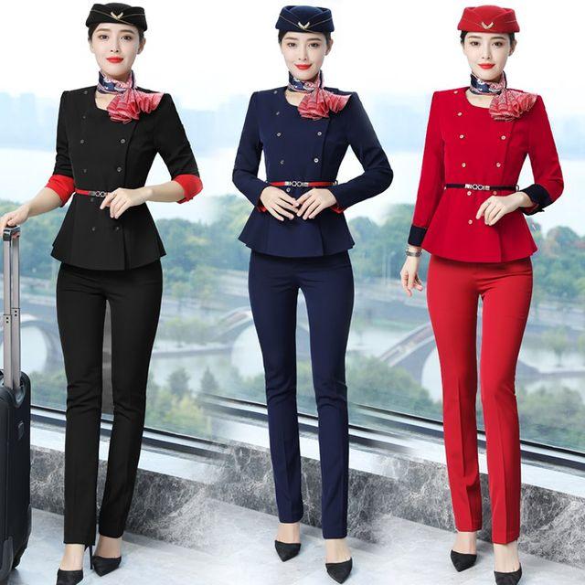[해외] 여성 패션 재킷 자켓 정장세트 유니폼 전문 정장