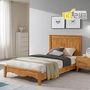 럭키 고무나무원목 침대프레임SS