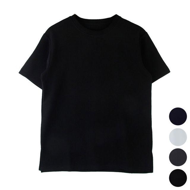W 데일리 아이템 남성 여성 베이직한 디자인 반팔티