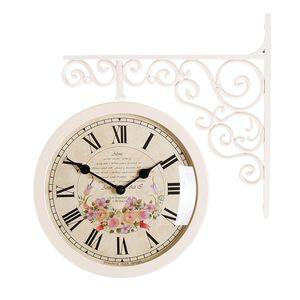 타임데코 Classic Double Clock Flower5(IV) 양면시계