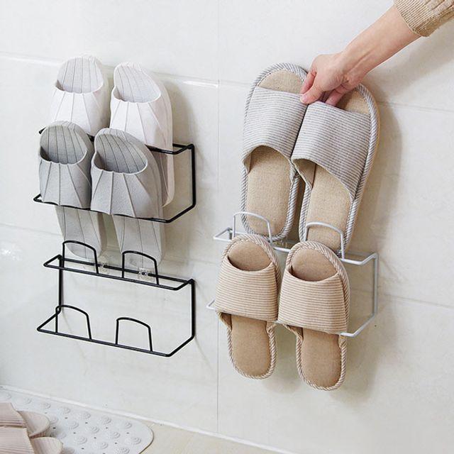 슬리퍼정리,슬리퍼수납,슬리퍼보관,슬리퍼걸이,접착정리대,접착거치대,슬리퍼꽂이,신발정리대,실내화걸이,실내화정리