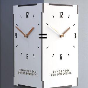 타임데코 직사각 코너시계 - 타임 벽시계