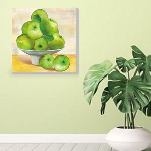 사과 그림 도자기 풍수 캔버스액자 그림드림 2App-30C