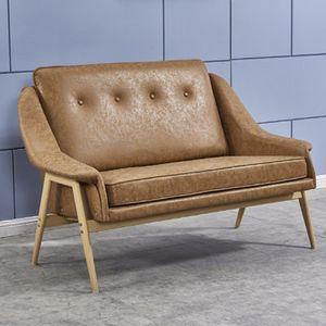 인조가죽 소파 2인용 Y1012 거실 인테리어 의자 조립