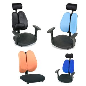 고급 등받이 레자 앉는 좌식 의자 1인용 편안한 쿠션