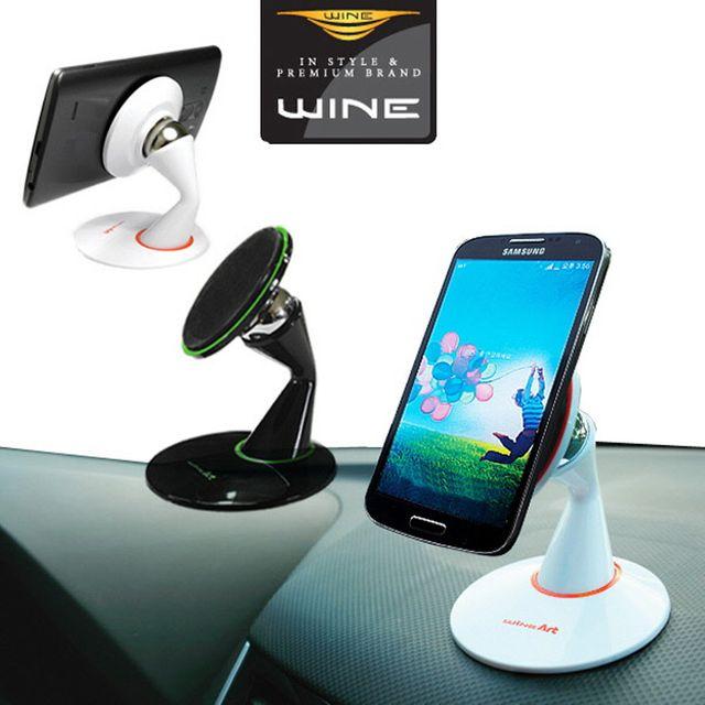 W 위네D87 강력흡착 마그넷 볼 스마트폰 차량거치대