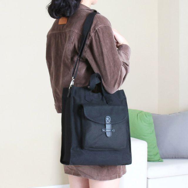 W 실용성 좋은 일상 데일리 패션 가방 크로스 에코백