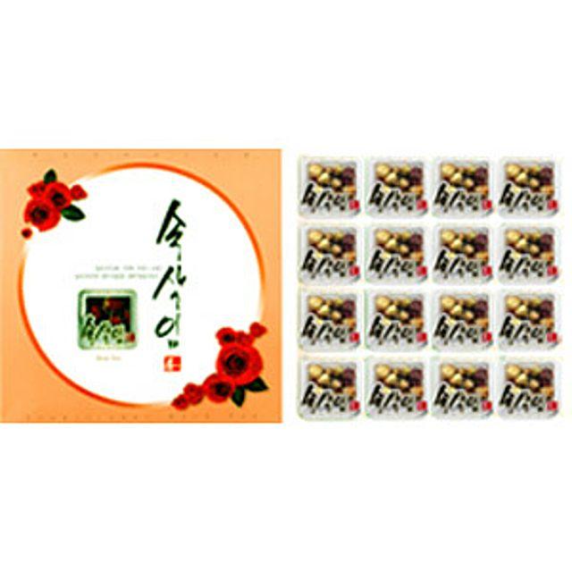 [더산쇼핑]프리미엄 속삭임 매화차 16T 매화차 허브차 전통차 꽃차 티타임 티백 차 tea 선물 집들이