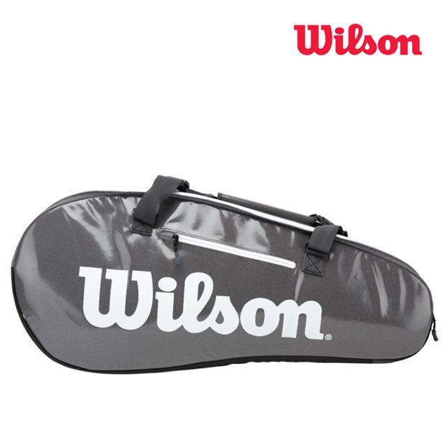 윌슨 WRZ843909 슈퍼투어2 콤프9PACK 그레이 테니스백