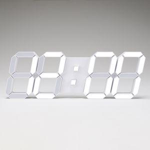 벽시계 3D LED 화이트 LG칩 인테리어 벽시계