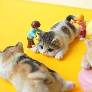 고양이 냉장고자석 장식소품 조각상 마그넷 인테리어