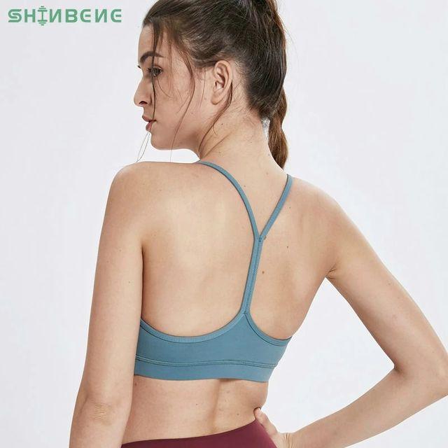 [해외] SHINBENE 새로운 Y 형 휘트니스 스포츠 브래지어 여성