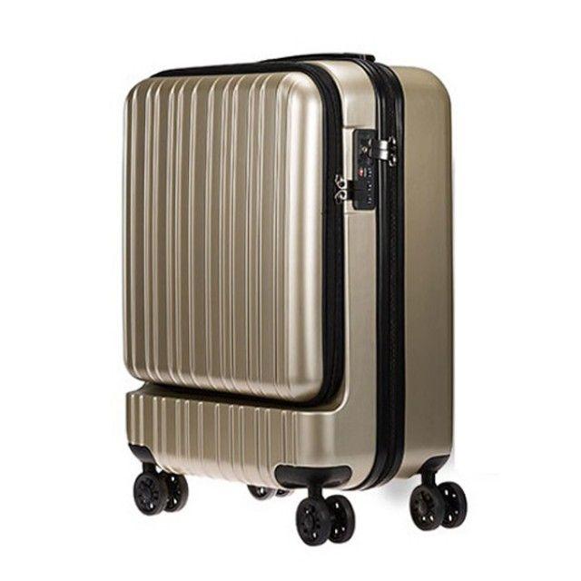 노트북수납 기내용 PC 여행가방(20) 골드 여행캐리어