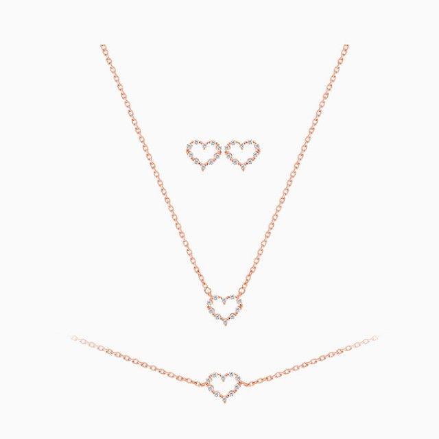 韩国直邮 (N + B)(银针)爱情Heart套装