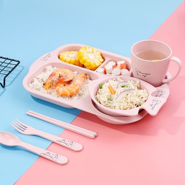 [해외] 주방용품 식판 아기 먹는 그릇 보완 식품