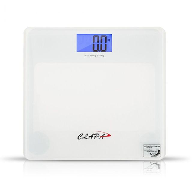 클래파 Pure White 디지털 체중계 BFB-DS160W 정확한