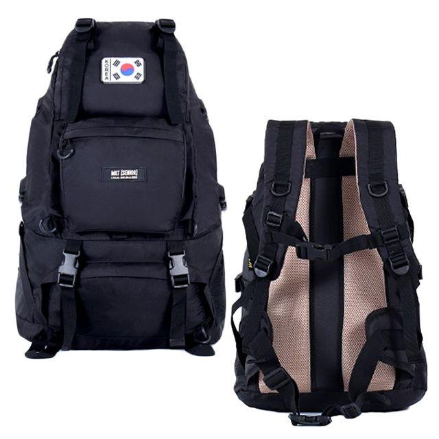 등산 가방 대용량 스포츠 여행 배낭 45L 검정 백팩