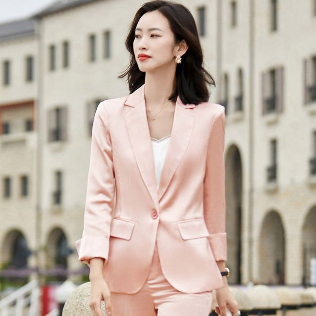 [해외] 여성 패션 재킷 자켓 정장세트 스타일 작은 정장