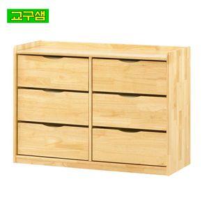 원목 영아 어린이 서랍장 6인 H34-2