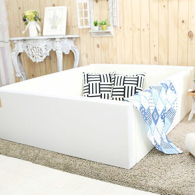 키즈베베 범퍼매트 아기범퍼침대 140cmx120cm