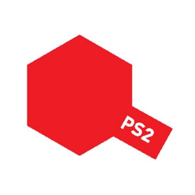 (TAMIYA)스프레이 캔 PS 2 RED 빨강색 모형공구도료서적 캔스프레이 타미야TAMIYA PS TAMIYA