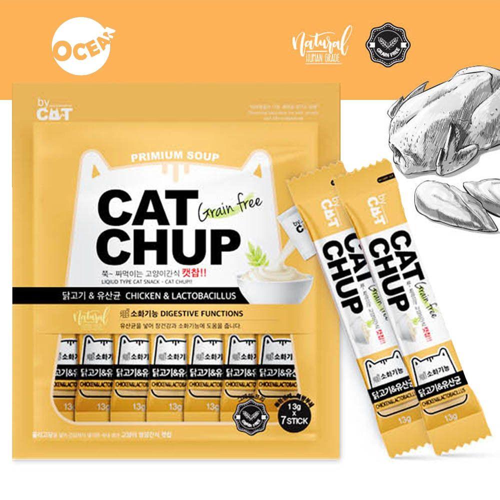 [A6E262] 고양이 영양간식 습식간식 훈련 짜먹는 캣 칭찬