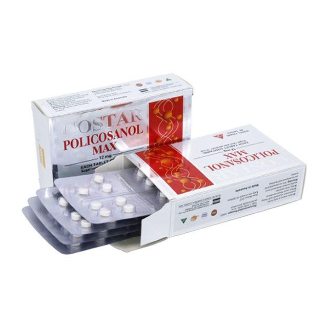 [해외] 호주 코스타 사탕수수 폴리코사놀 12mg 60정