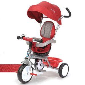 유아 자전거 유모차 세발자전거 푸쉬자전거 레드