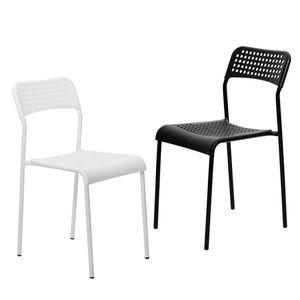 인테리어 스파크의자 플라스틱 철제 정원 식탁의자