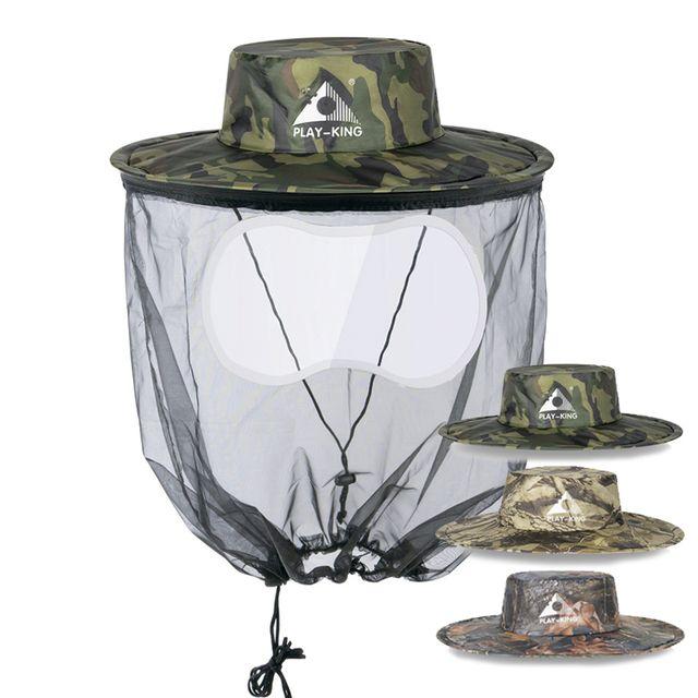W 키밍 수납형 낚시 양봉 등산 농사 해충 방충모자