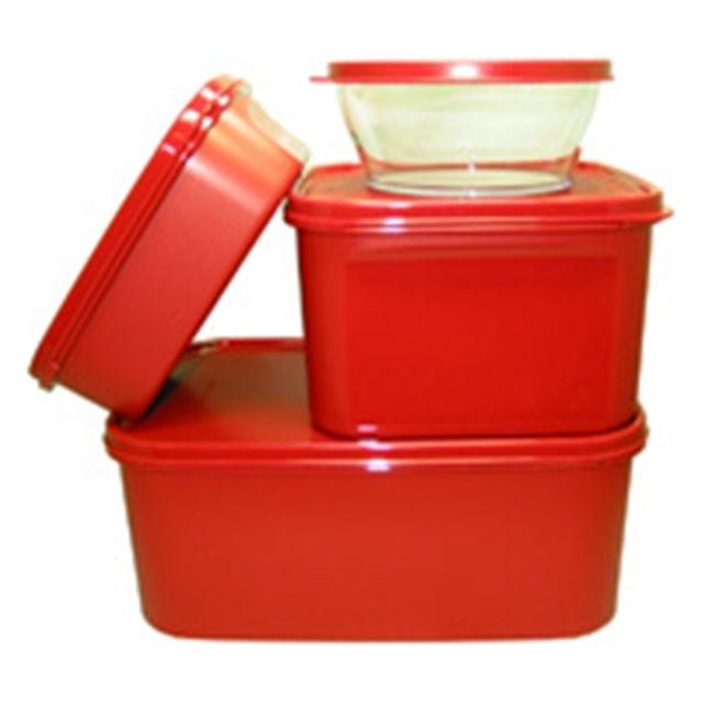 타파웨어 사계절 김치통 4개 세트 냉장고 정리용 큰통