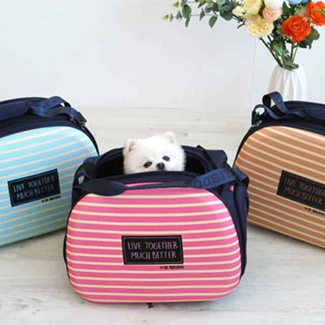 반려동물 EVA 캐리어 이동가방 애견 가방 애완용품